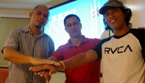 Race directors PJ Villarta, Eric Imperio, and Thumbie Remigio